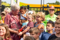 Fun for All Playground Ribbon Cutting
