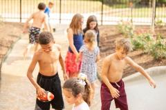 Fun for All Playground Ribbon Cutting - Splash Pad