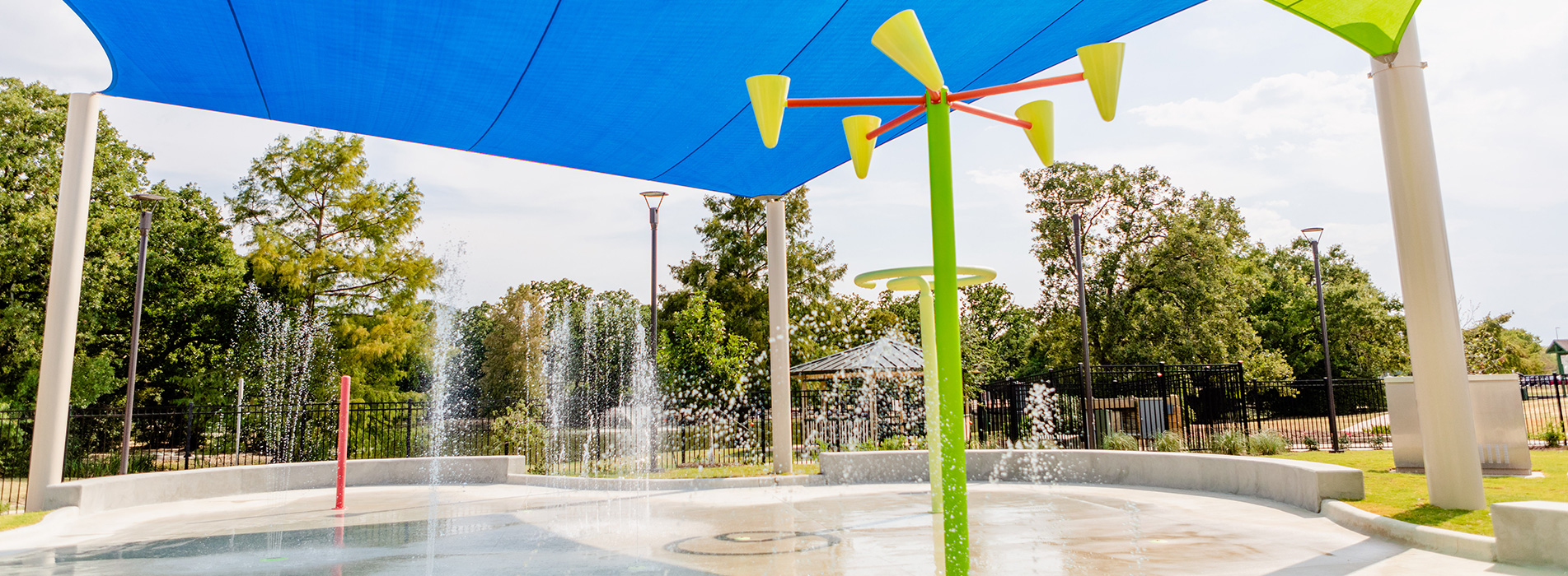 Fun for All Playground - Splash Pad