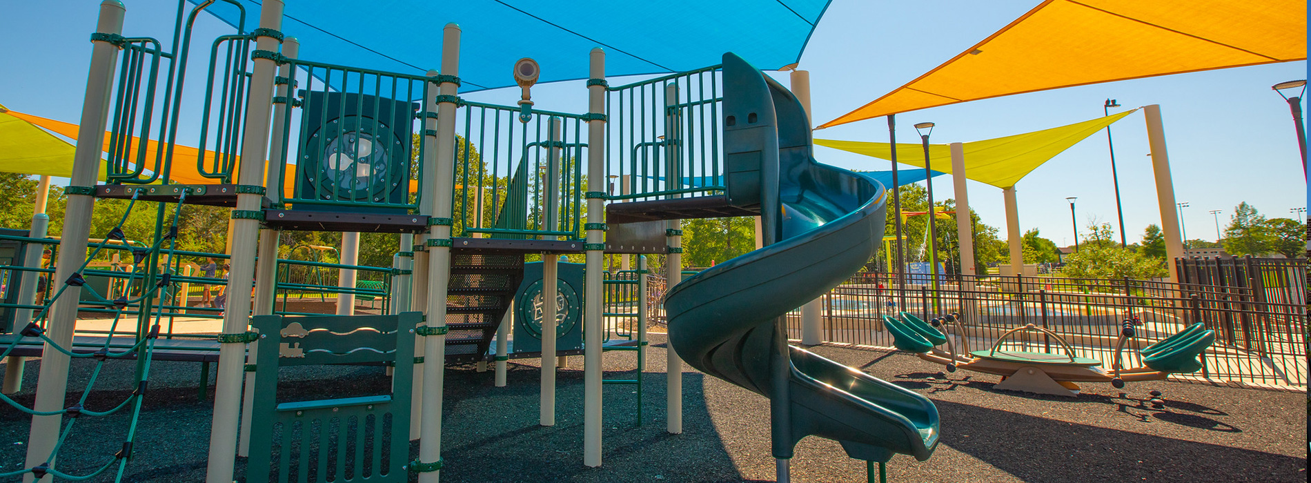 Fun for All Playground at Central Park in College Station